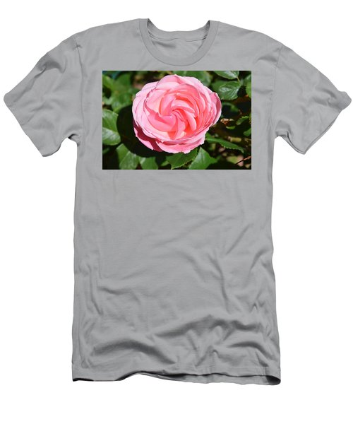 Men's T-Shirt (Athletic Fit) featuring the photograph Rose Flower by Margarethe Binkley