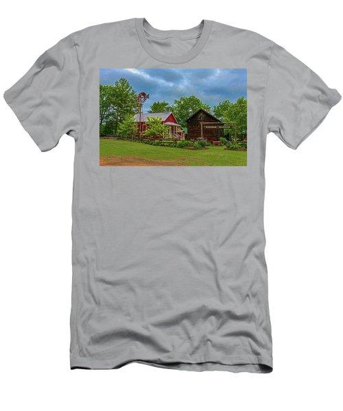 Rosholt Pioneer Park Men's T-Shirt (Slim Fit) by Trey Foerster