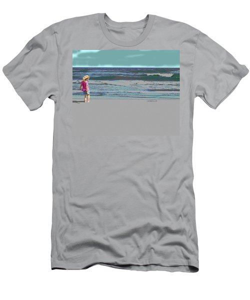 Rosie On The Beach Men's T-Shirt (Athletic Fit)