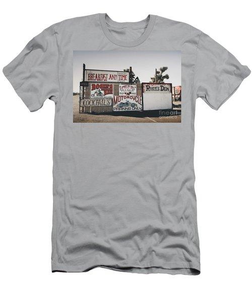 Rosies Den Cafe Men's T-Shirt (Athletic Fit)