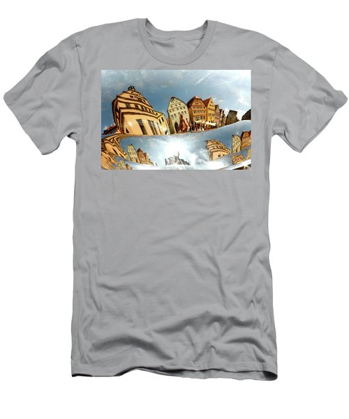 Men's T-Shirt (Slim Fit) featuring the photograph Rotenburg In A Tuba by KG Thienemann