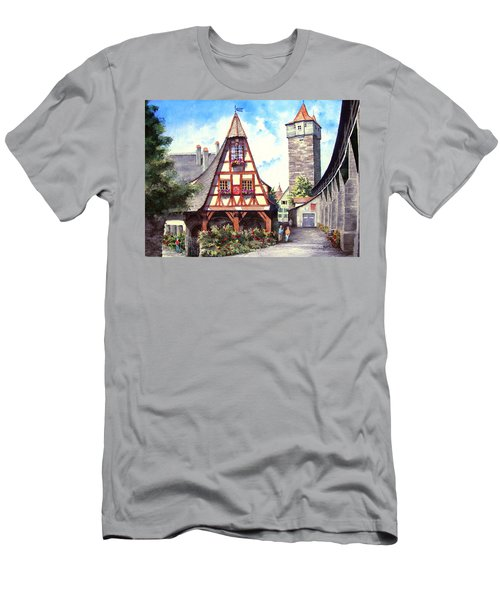 Rothenburg Memories Men's T-Shirt (Athletic Fit)