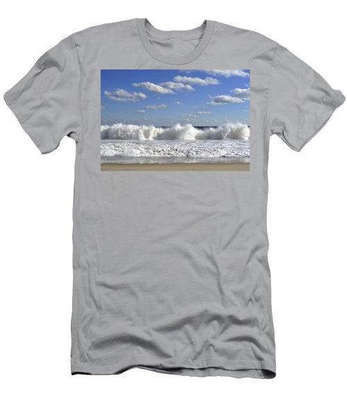Rough Surf Jersey Shore  Men's T-Shirt (Athletic Fit)