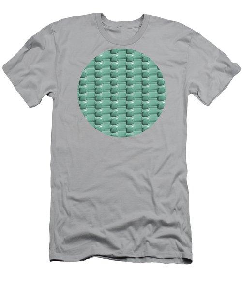 Round Bottom Bottles Collage Men's T-Shirt (Slim Fit) by Phil Perkins