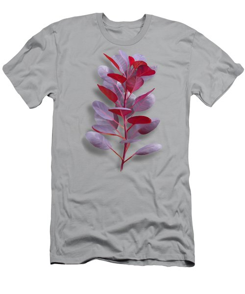 Men's T-Shirt (Athletic Fit) featuring the painting Royal Purple by Ivana Westin