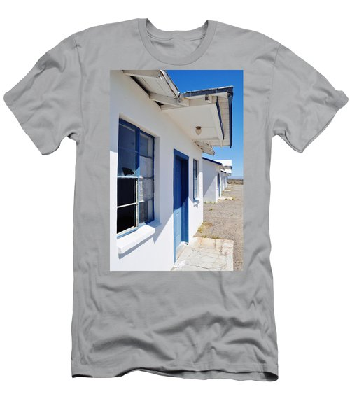 Roy's Motel And Cafe Auto Court Men's T-Shirt (Slim Fit) by Kyle Hanson