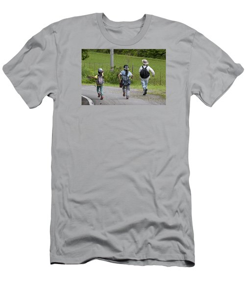 Run Together Men's T-Shirt (Athletic Fit)