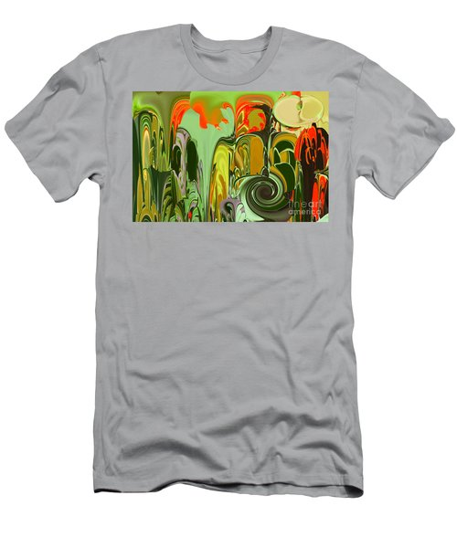 Running Through The Jungle Men's T-Shirt (Athletic Fit)