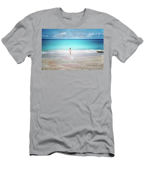 Running To The Sea Men's T-Shirt (Athletic Fit)