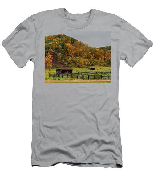Rural Beauty In Ohio  Men's T-Shirt (Athletic Fit)