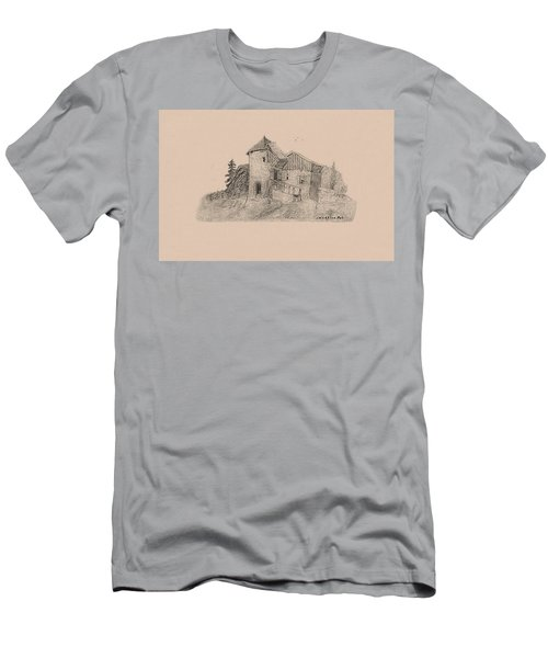 Rural English Dwelling Men's T-Shirt (Athletic Fit)