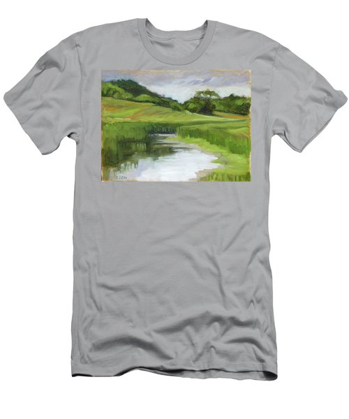 Rural Marsh Men's T-Shirt (Athletic Fit)