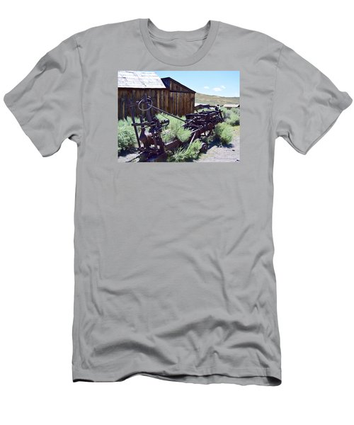 Rust Sleeps Men's T-Shirt (Athletic Fit)