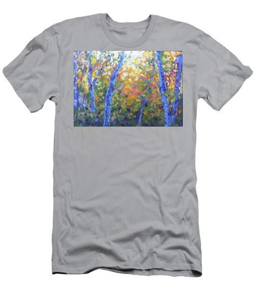 Rustlers Gulch Afternoon Men's T-Shirt (Slim Fit) by Becky Chappell