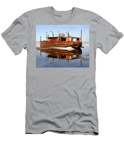 Rusty Barge Men's T-Shirt (Athletic Fit)
