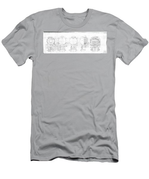S-1a Cross Sections Men's T-Shirt (Athletic Fit)