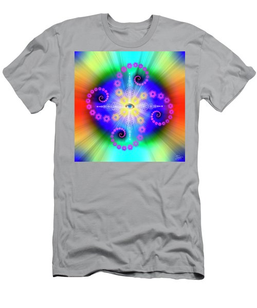 Sacred Geometry 653 Men's T-Shirt (Athletic Fit)