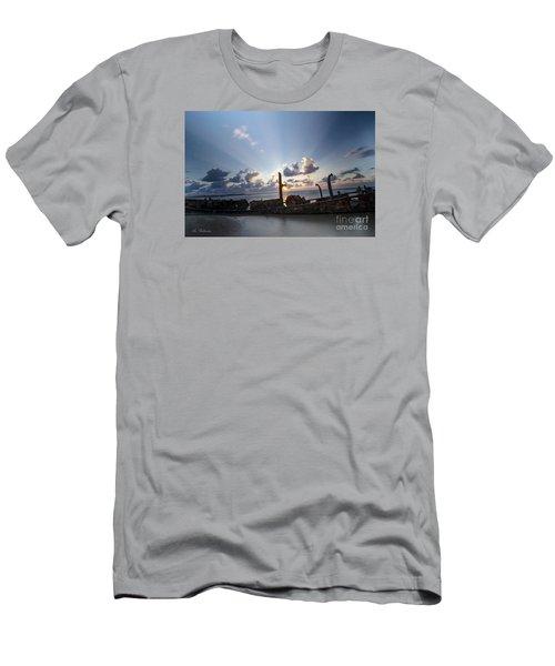 Safe Shore 02 Men's T-Shirt (Athletic Fit)