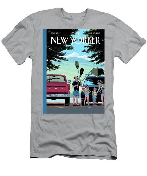 Safe Travels Men's T-Shirt (Athletic Fit)