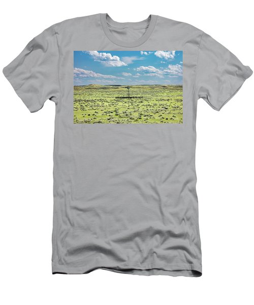 Sagebrush Windmill Men's T-Shirt (Athletic Fit)