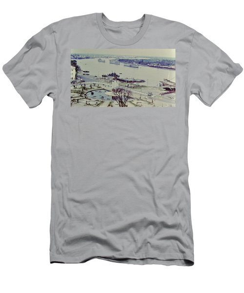 Saigon River, Vietnam 1968 Men's T-Shirt (Athletic Fit)
