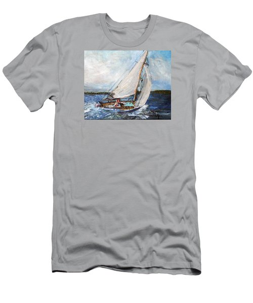 Sail Away Men's T-Shirt (Slim Fit)