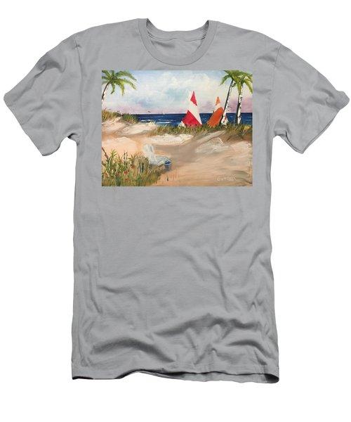 Sailing Along Men's T-Shirt (Athletic Fit)