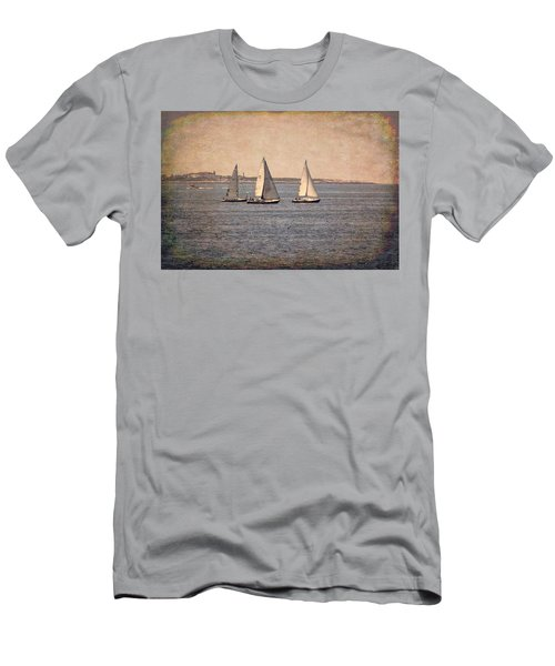 Men's T-Shirt (Athletic Fit) featuring the photograph Sailing  by Betty Pauwels