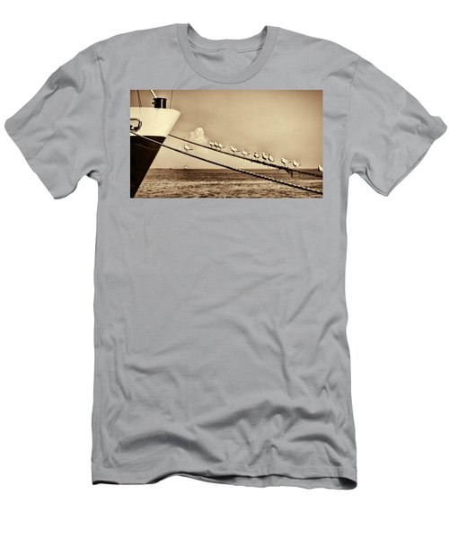 Sailors V2 Men's T-Shirt (Slim Fit) by Douglas Barnard