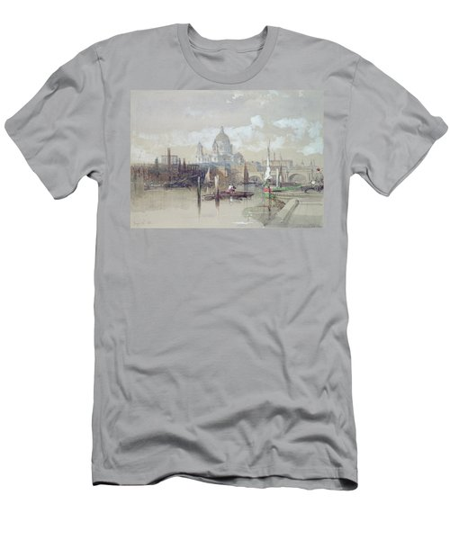 Saint Pauls From The River Men's T-Shirt (Athletic Fit)
