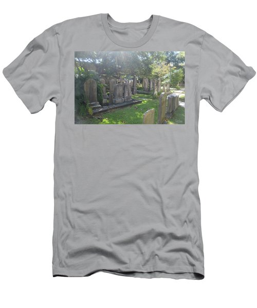 Saint Phillips Cemetery 4 Men's T-Shirt (Slim Fit) by Gordon Mooneyhan