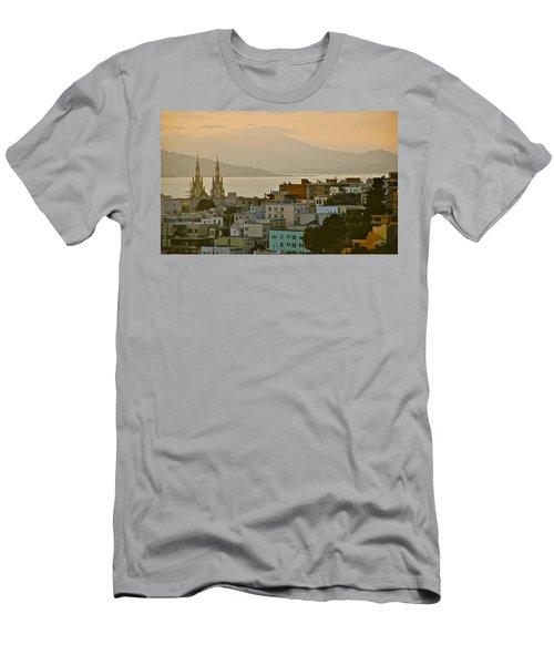 Saints Peter And Paul Spires Men's T-Shirt (Slim Fit) by Eric Tressler