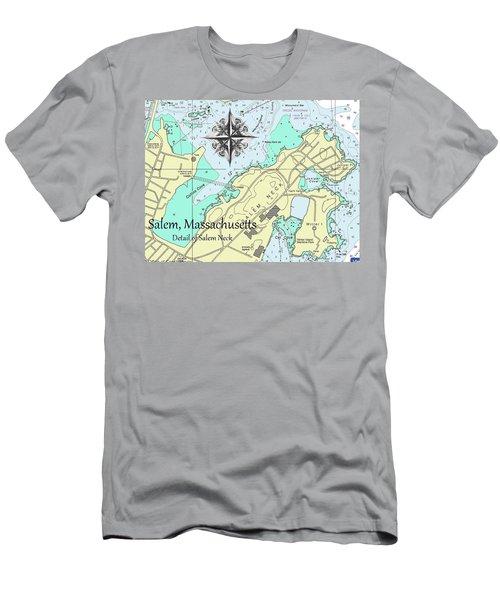 Salem Neck Men's T-Shirt (Athletic Fit)