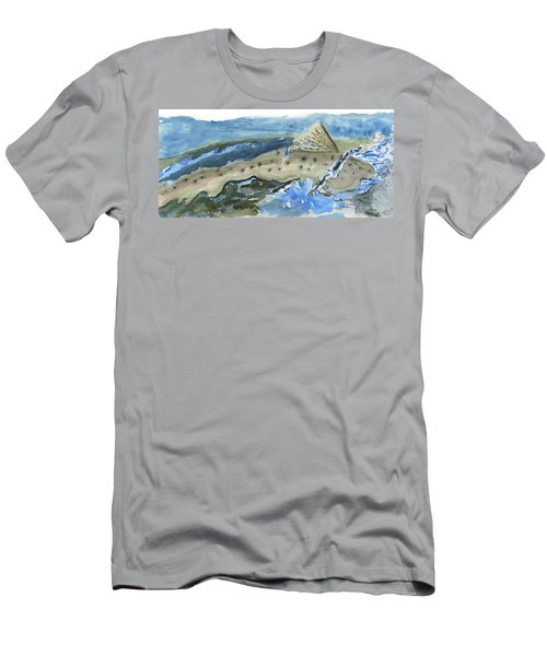 Salmon Surface Men's T-Shirt (Athletic Fit)