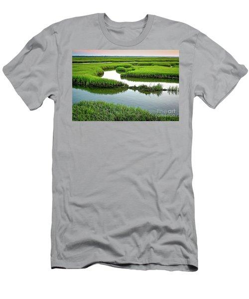Salt Marsh Men's T-Shirt (Athletic Fit)