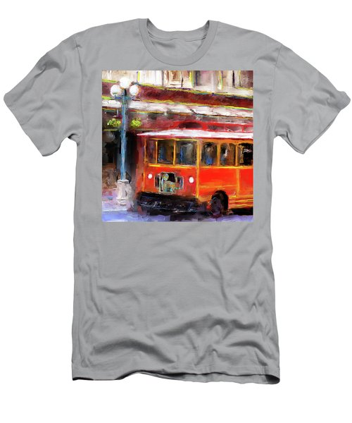 San Antonio 5 Oclock Trolley Men's T-Shirt (Athletic Fit)