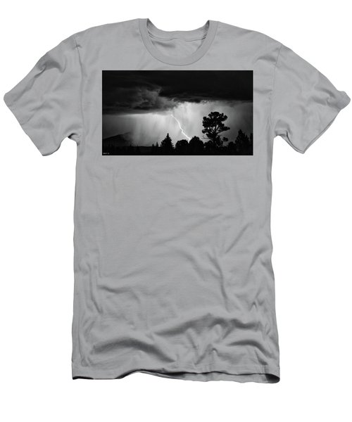 Men's T-Shirt (Slim Fit) featuring the photograph San Juan Strike by Kevin Munro