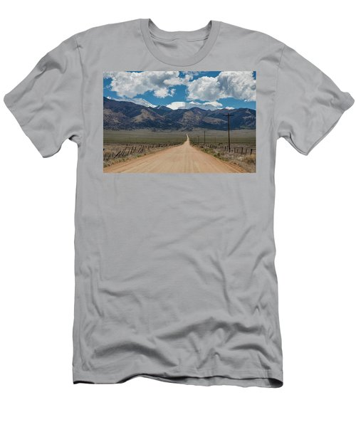 San Luis Valley Back Road Cruising Men's T-Shirt (Slim Fit) by James BO Insogna