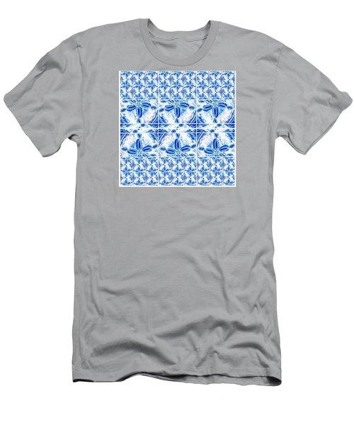 Sand Dollar Delight Pattern 6 Men's T-Shirt (Athletic Fit)