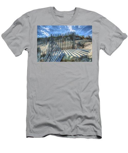 Sand Fence Men's T-Shirt (Athletic Fit)