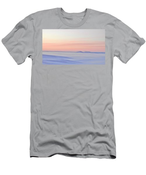 Sand Painting Men's T-Shirt (Athletic Fit)