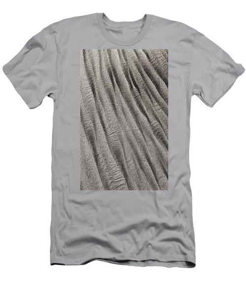 Men's T-Shirt (Athletic Fit) featuring the digital art Sand Waves by Julian Perry