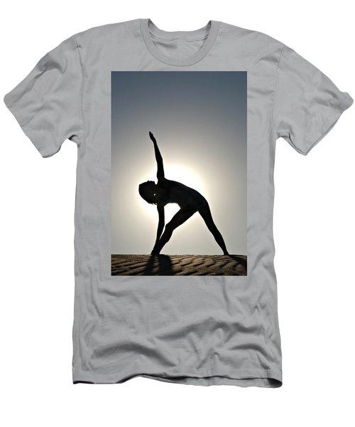 Sand Yoga Men's T-Shirt (Athletic Fit)