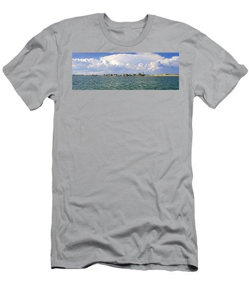 Sandy Neck Cottage Colony Men's T-Shirt (Athletic Fit)
