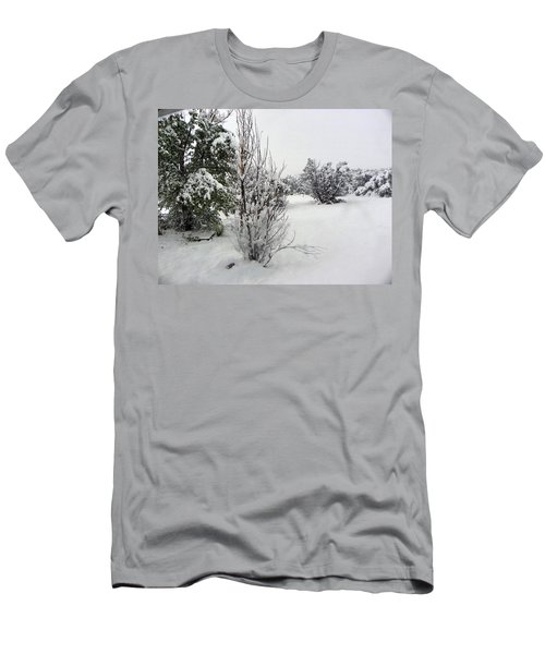 Santa Fe Snowstorm 2017 Men's T-Shirt (Athletic Fit)