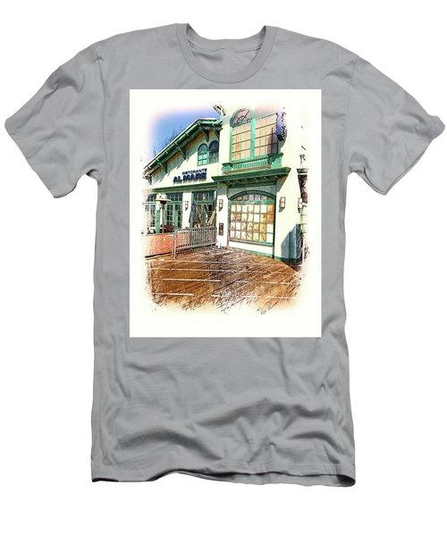Santa Monica Pier Ver 2 Men's T-Shirt (Athletic Fit)