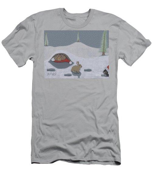 Santa's Ultimate Gift Men's T-Shirt (Athletic Fit)