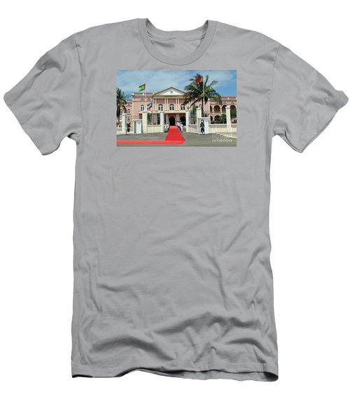 Sao Tome City Hall Men's T-Shirt (Athletic Fit)