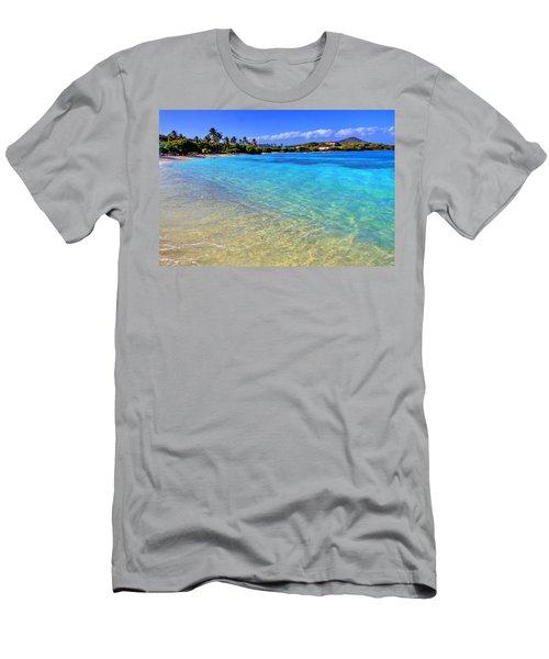 Sapphire Glow Men's T-Shirt (Slim Fit) by Scott Mahon