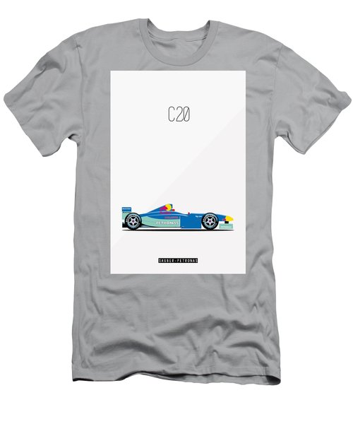 Sauber Petronas C20 F1 Poster Men's T-Shirt (Athletic Fit)